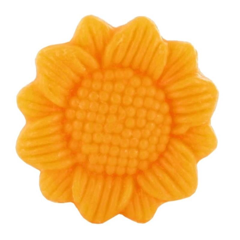 Savon sujet tournesol orange