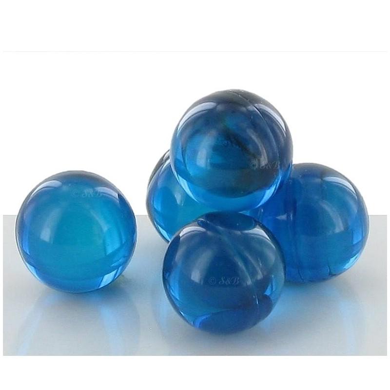 Perle de bain menthe bleue