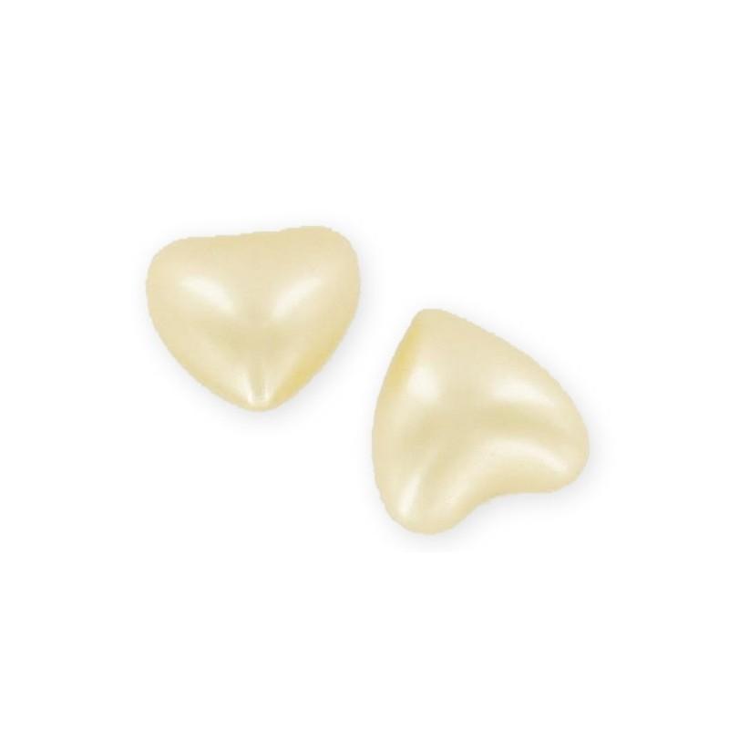 Perle de bain ronde nacrée chèvrefeuille (jaune)