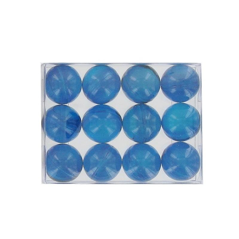 EXOTIQUES: Lot de 4 boîtes de 12 perles d'huile de bain