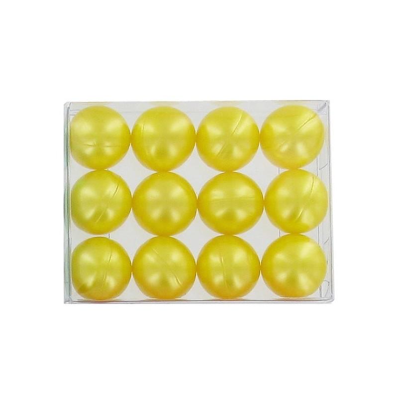 ETOILES: Lot de 4 boîtes de 12 perles d'huile de bain